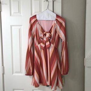 Gianni binni mini dress